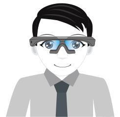 glasses use step3